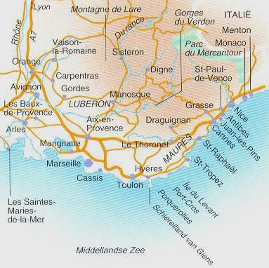 frankrijk middellandse zee